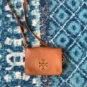 Tory Burch Tan Leather Crossbody